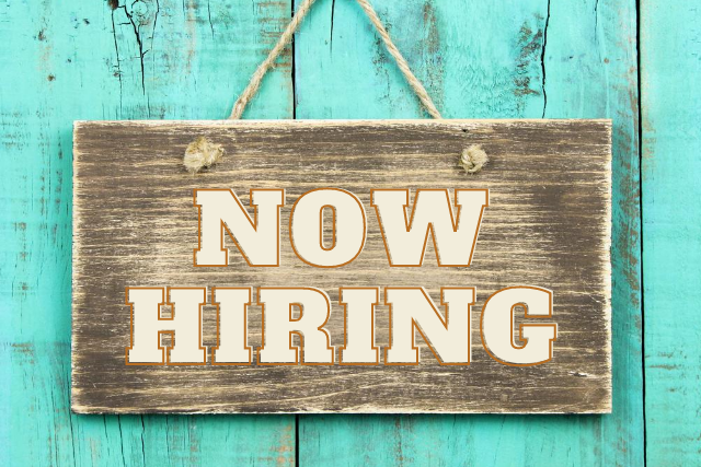 NOW HIRING! Maintenance Worker & Food Pantry Admin Assistant